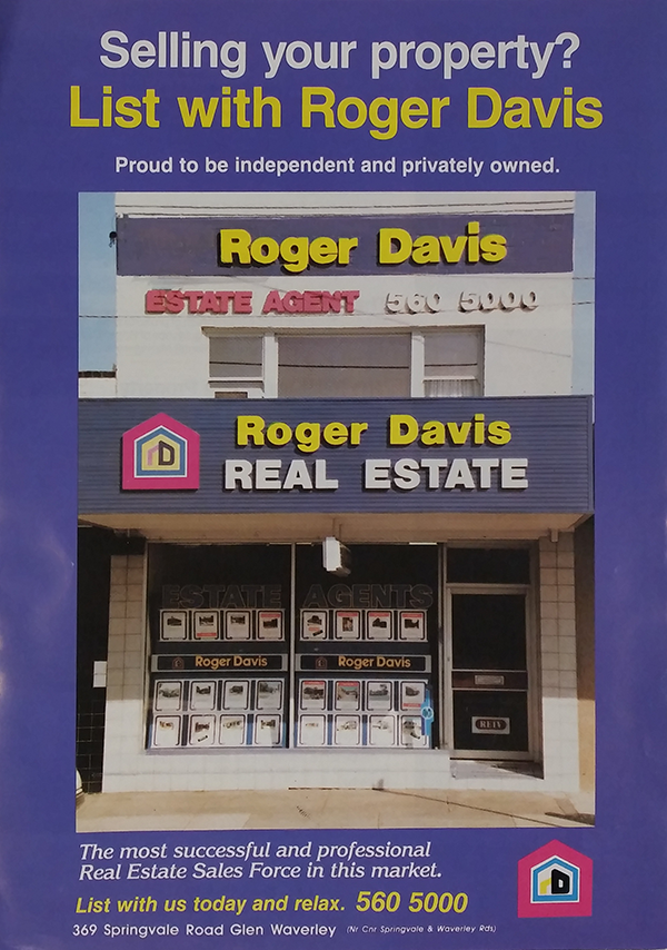 1995 – 'The Most Successful and Professional Real Estate Sales Force in this Market'
